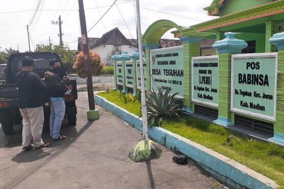 Kantor Desa Teguhan, Kecamatan Jiwan, Kabupaten Madiun, Jumat (5/2/2021). (Abdul Jalil/Madiunpos.com)