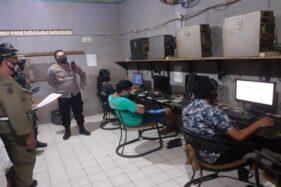 Buka Saat Jateng di Rumah Saja, Warnet Game Online di Sukoharjo Ditutup Paksa