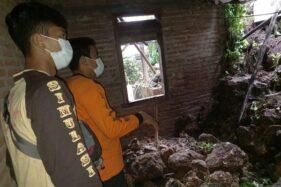 Longsor Timpa Rumah Warga di Grobogan, 3 Orang Luka