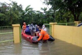 Terendam 1,2 M, Banjir di Ngaliyan Berangsur Surut