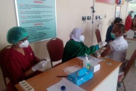 Catat, Nakes di Jateng Terima Vaksin Booster Pekan Ini