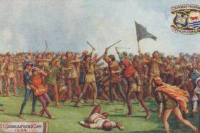 Sejarah Hari Ini: 10 Februari 1355 Kerusuhan Hari St Scholastica
