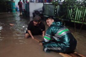 Perumahan Bhayangkara Sragen Kebanjiran, 20-An Rumah Tergenang