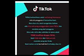 Situs Tiktokcash.com Diblokir, Tiktok Bantah Terkait