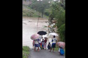 Sungai Mungkung dan Garuda Sragen Meluap Banjiri Permukiman di 4 Kecamatan