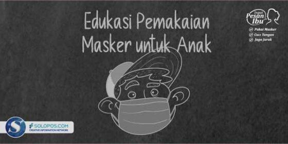 Infografis Pemakaian masker (Solopos/Whisnupaksa)
