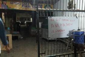 Pasar Jaten Tutup Selama Jateng di Rumah Saja, Ternyata 2 Pedagang Positif Covid-19