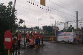 Perlintasan KA di Barat Stasiun Klaten Resmi Ditutup, Warga Sedih