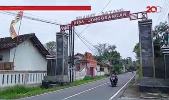 Desa Jonggrangan di Kecamatan Klaten Utara, Kabupaten Klaten, memiliki keunikan dengan jumlah warga kembarnya yang banyak. (detik.com)
