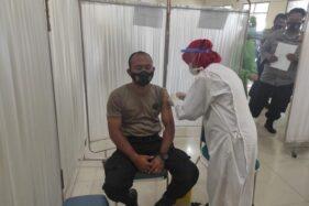 Polisi Mendominasi Hari Pertama Vaksinasi Tahap II Di Wonogiri