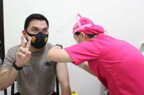 Kapolres Grobogan dan Anggota Jadi Sasaran Vaksin Covid-19