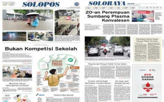 Koran Solopos edisi Rabu (24/2/2021).
