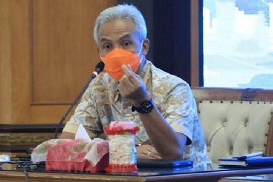 Gubernur Jateng Ganjar Pranowo.(Semarangpos.com-Humas Pemprov Jateng)