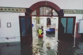 Stasiun Tawang, banjir Semarang. Daops IV, KAI Semarang