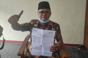 Jadi Orang Tertua yang Divaksin di Wonogiri, Anggota DPRD Ini Beri Pesan Kepada Sesama Lansia
