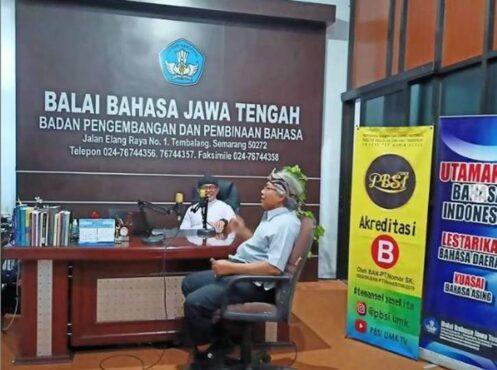 Balai Bahasa Jawa Tengah. (Instagram/Balaibahasajawatengah),