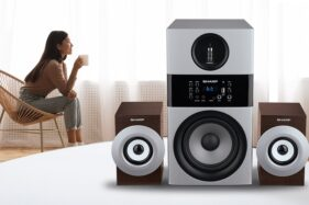 Sasar Penikmat Musik Premium, Sharp Luncurkan Active Speaker High Definition