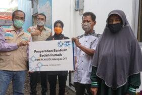 YBM PLN Beri Bantuan Bedah Rumah ke Warga Miskin Semarang