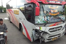 Kecelakaan Maut Bus Mira di Sragen, Remaja 18 Tahun Meninggal Dunia