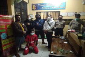 Gondol Motor Warga Sragen, Pemuda Blora Ditangkap di Pasar Maling Malang