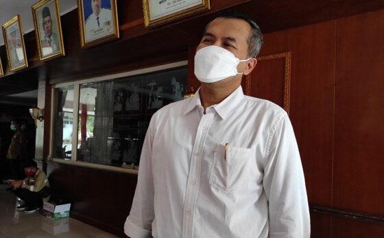 Bupati Wonogiri, Joko Sutopo, di Pendapa Rumah Dinas Bupati Wonogiri, Kamis (25/2/2021). (Solopos/M. Aris Munandar)
