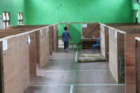 Sarpras TES Pengungsi Merapi Balerante Klaten Dibongkar, Sukarelawan Ditarik