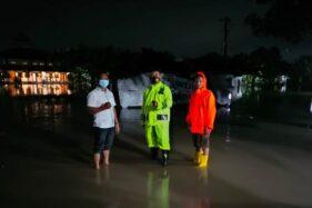 Sungai Kaligawe Meluap Genangi 5 Desa di Karangdowo Klaten