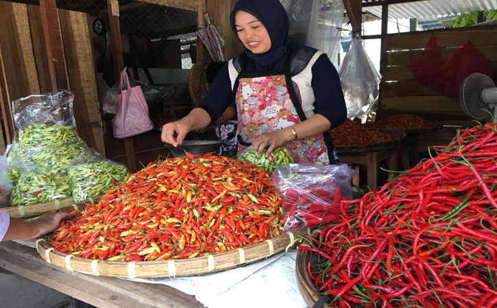 Super Pedas, Harga Cabai Rawit Merah di Solo Tembus Rp80.000