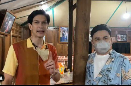 Dua host Bikin Laper, Dimas Beck dan Ncess Nabati kulineran di Solo (Instagram/@bikinlapertranstv).