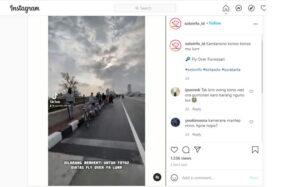 Pengguna Jalan Bandel Nekat Selfie Di Flyover Purwosari, Ini Tindakan Dishub Kota Solo
