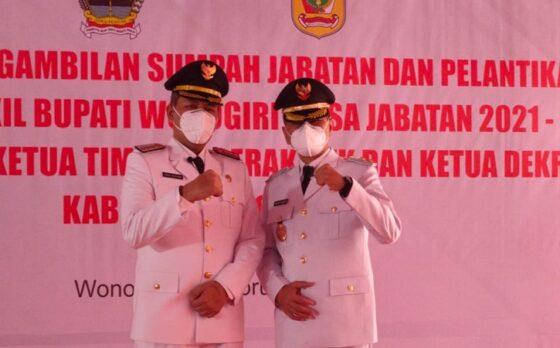 Joko Sutopo dan Setyo Sukarno. (Solopos/Rudi Hartono)