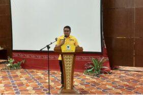 Putra Bupati Juliyatmono Gantikan Ayahnya Jadi Ketua DPD II Partai Golkar Karanganyar