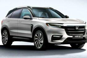 Honda Rilis HR-V 2021 Versi Anyar dengan Pembaruan Desain