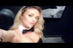 Model Seksi Playboy Banting Setir Jadi Tenaga Medis Saat Pandemi Covid-19