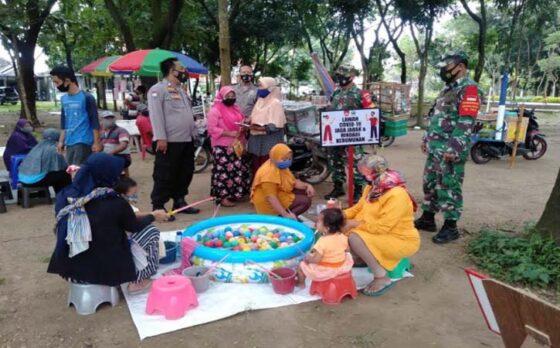 Tim Galakkan Patroli di Karangmalang Sragen Sasar Pelanggar Protokol Kesehatan