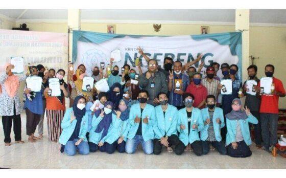 Kelompok 95 KKN UNS periode Januari-Februari 2021 di Desa Ngebeng, Kecamatan Wuryantoro, Kabupaten Wonogiri. (Istimewa)