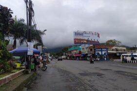 Kawasan Wisata Tawangmangu Sepi Nyenyet
