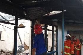 Berawal dari Ledakan di Kamar, Rumah Nenek-Nenek di Madiun Ludes Terbakar