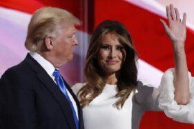 Pisah Kantor, Donald Trump dan Istrinya Mau Cerai?
