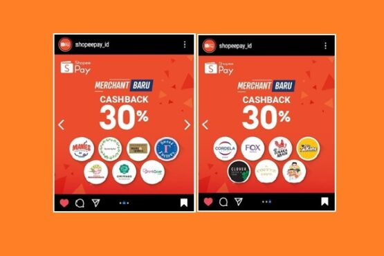 Tangkapan layar Instagram @shopeepay_id