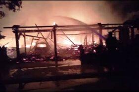 Duh, 2 Rumah 3 Mobil dan 6 Motor Ludes Terbakar di Simo Grobogan