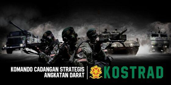 Kostrad berdiri pada 6 Maret 1961, selalu siap beroperasi atas perintah Panglima TNI.(Kostrad.mil.id)