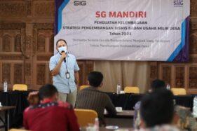 SG Tingkatkan Kompetensi Pengelola BUMDes Binaan Agar Lebih Inovatif dan Visioner