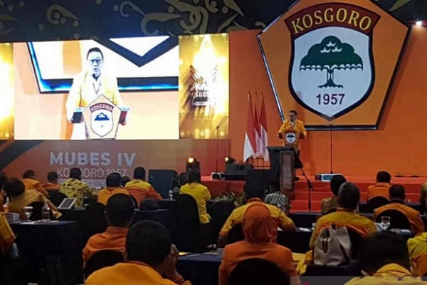 Kosgoro Deklarasikan Airlangga Hartarto Capres 2024