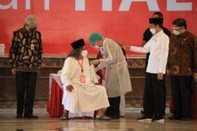 Ke Semarang, Jokowi Pantau Vaksinasi Covid-19