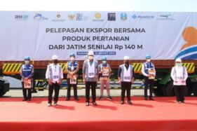 Mantap! 3 Menteri Lepas Ekspor Produk Pertanian Jatim Senilai 140 Miliar