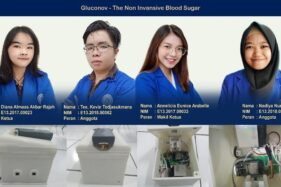 Canggih! Mahasiswa Udinus Semarang Ciptakan Alat Deteksi Diabetes