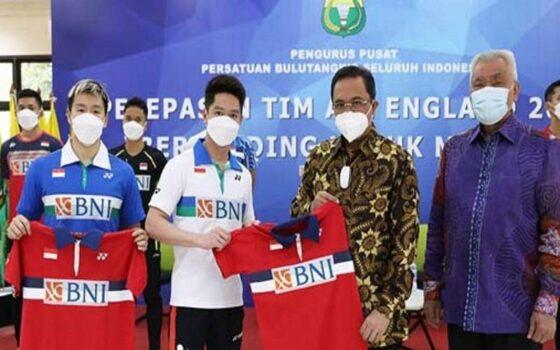 Tim badminton Indonesia bertolak ke Inggris pada Jumat (12/3/2021) untuk mengikuti All England yang akan digelar 17-21 Maret 2021. (Solopos.com-badmintonindonesia.org)