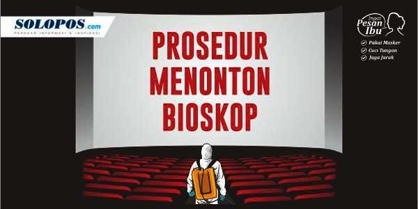 Cara Nonton Film di Bioskop Selama Pandemi