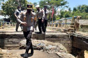Ambyar, Tiga Jembatan di Magetan Rusak Diterjang Banjir